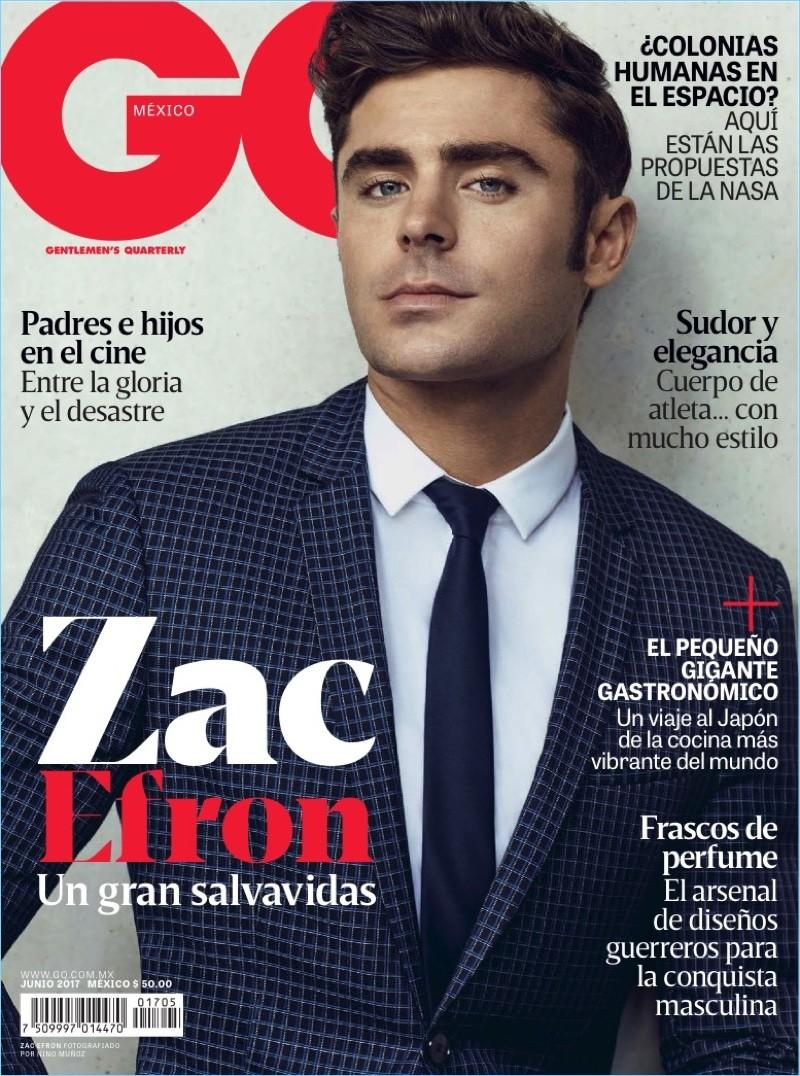 Zac Efron en GQ Mexico