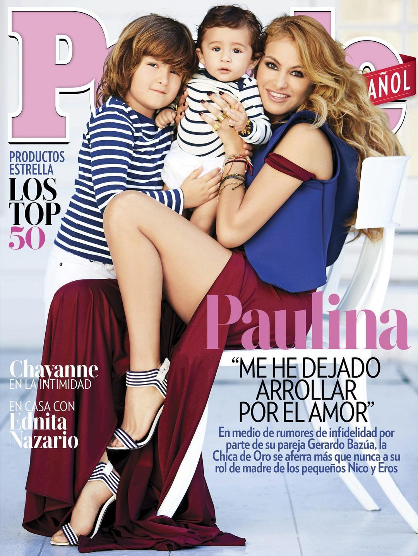 Paulina Rubio en People en Español