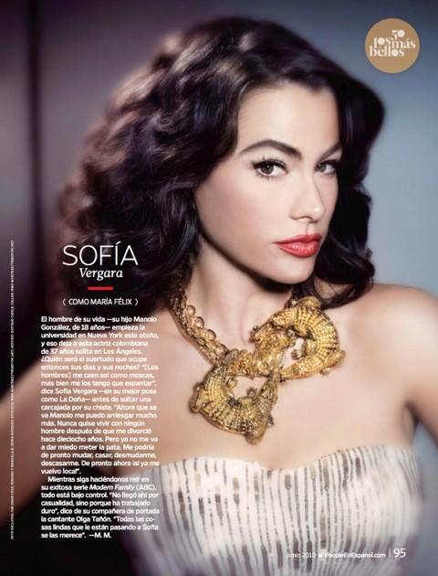 Sofía Vergara en People en Español