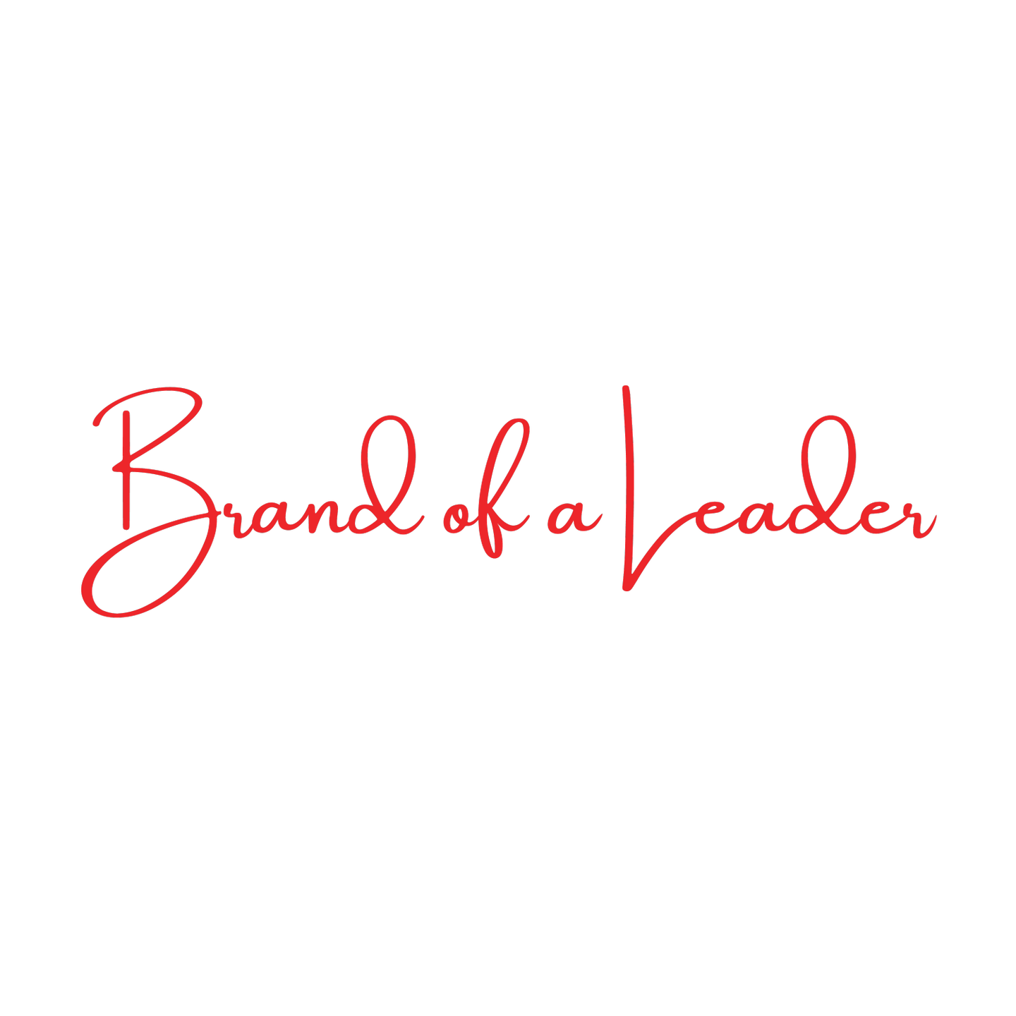 Brand of a Leader