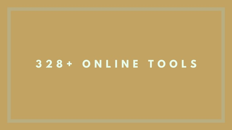 Downloadable List: 328+ Online Tools to Start Your Business with Ease