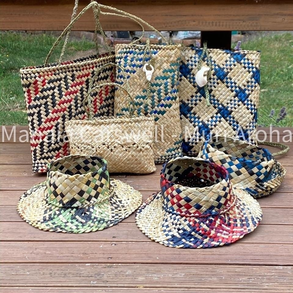 Manaia's weaving collection