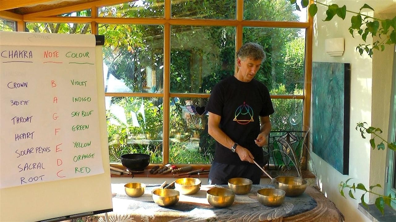 Short Sound Healing Course: Balancing the Chakras With Tibetan Singing Bowls