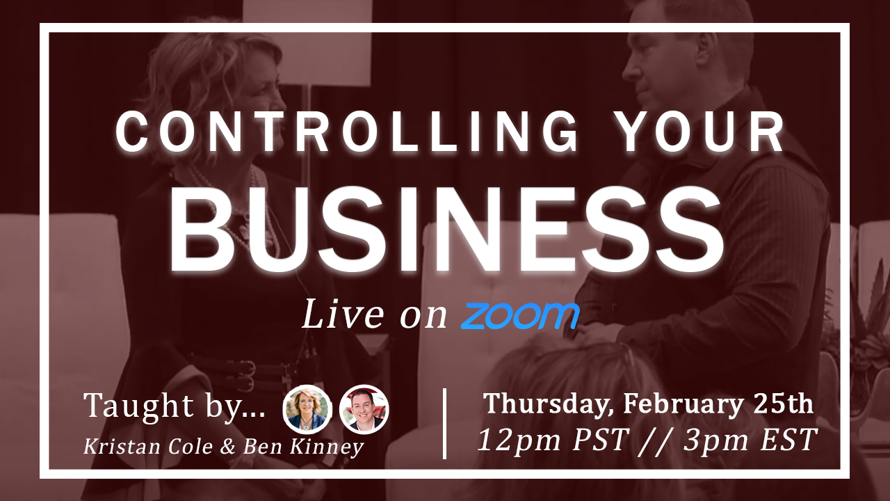 Controlling Your Business with Ben Kinney and Kristan Cole