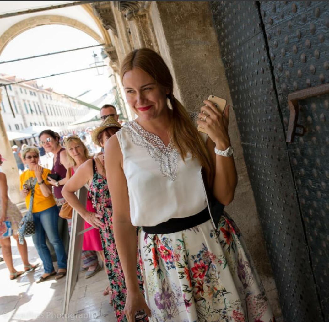 Ines Nanic Dubrovnik Event