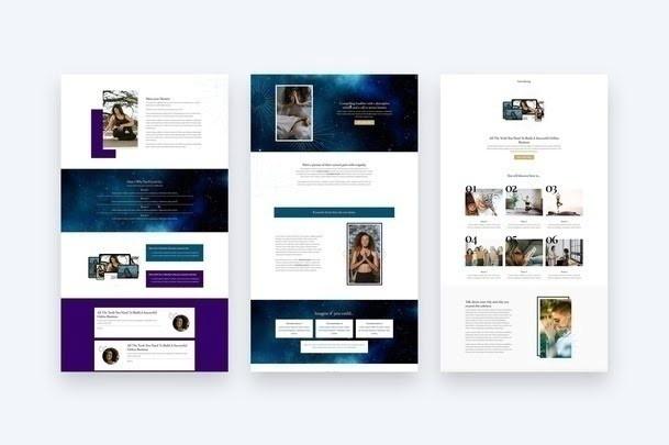 Sales Page Template in Kajabi
