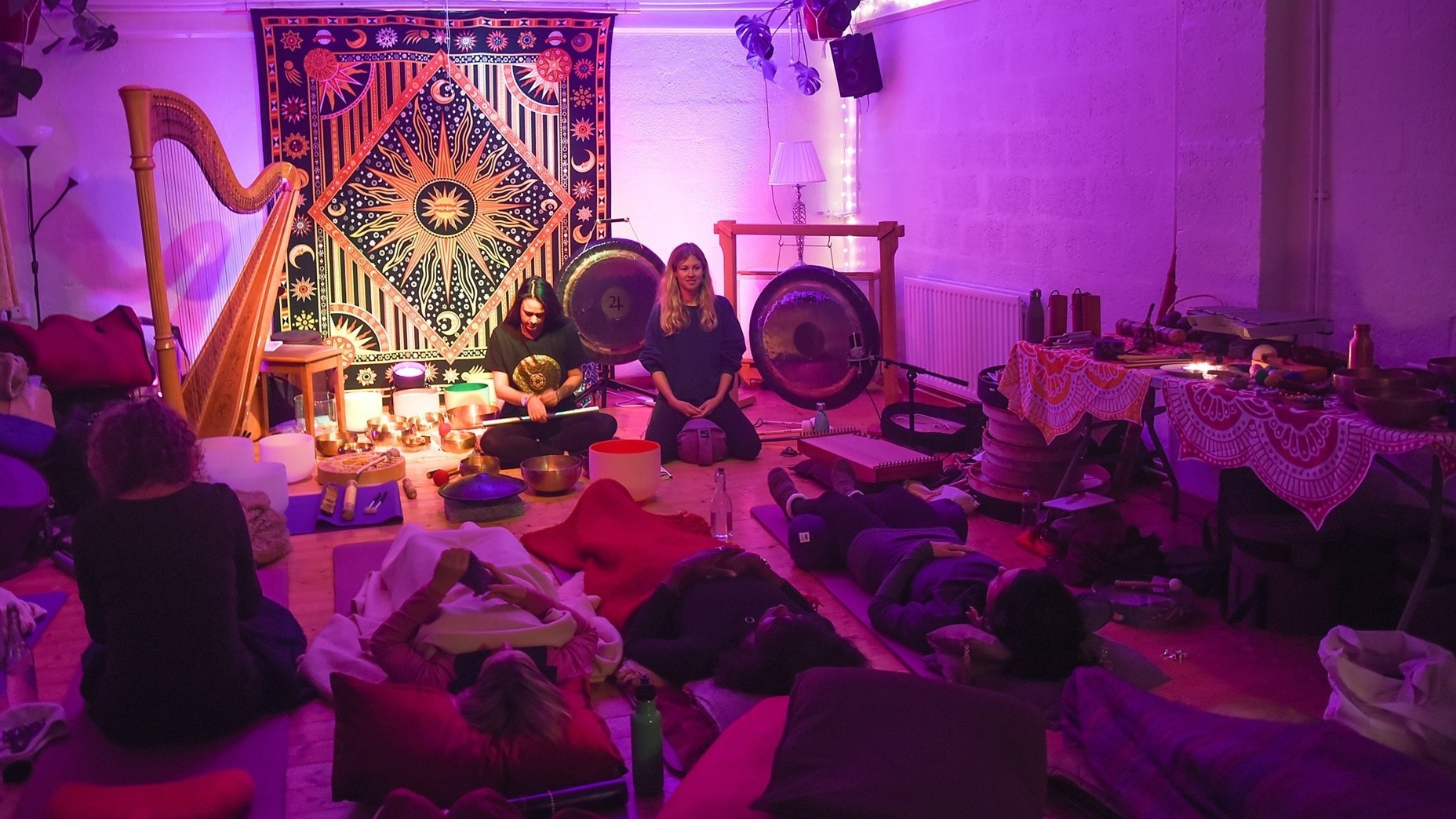sound healing course Groups