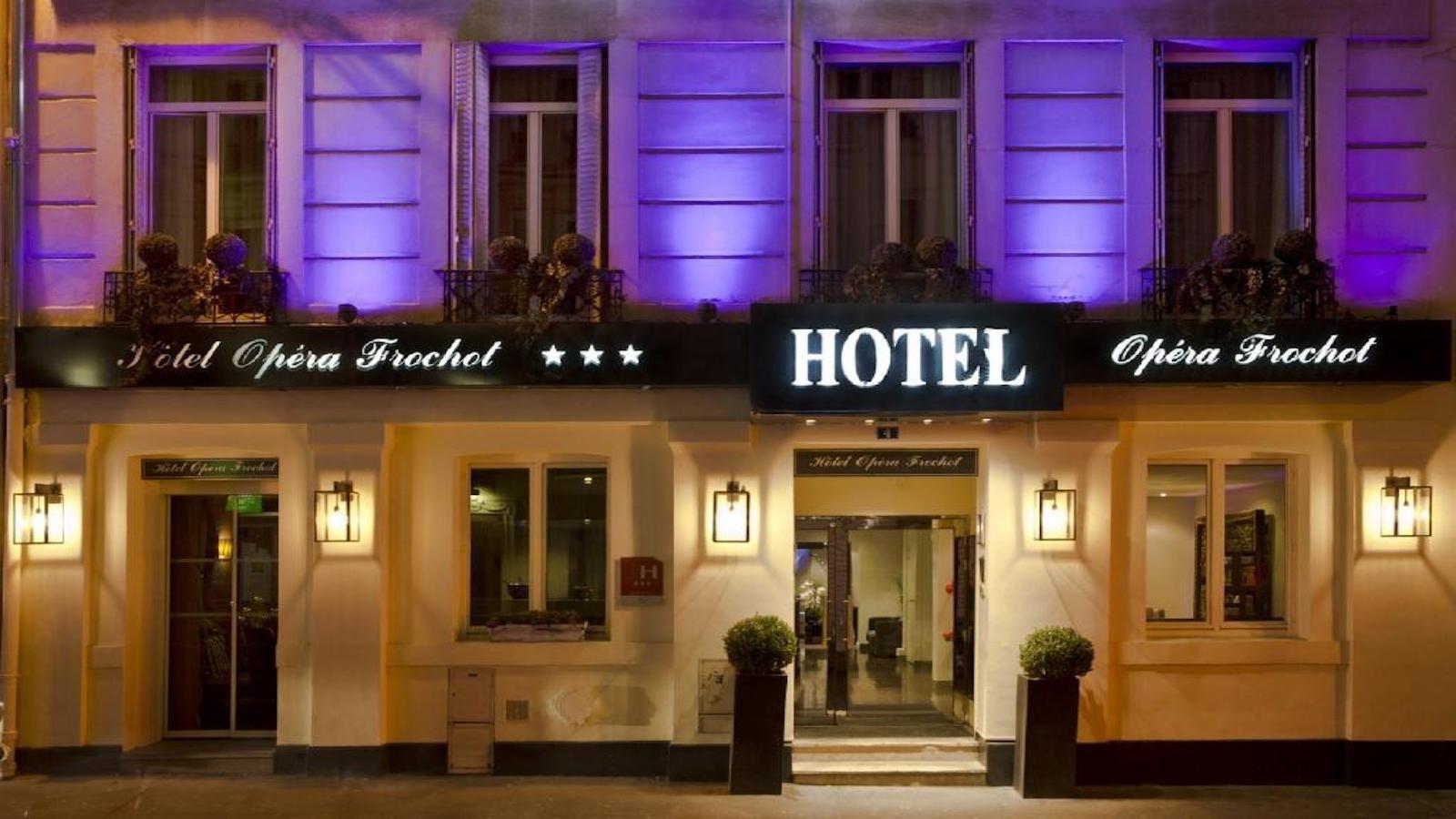 Hôtel Opéra Frochot Paris client Ododo