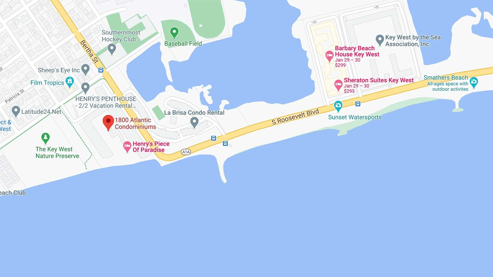 1800 Atlantic Condos in Key West, Florida