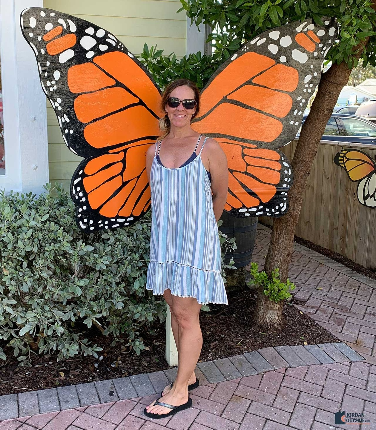 Julie with the Key West Butterfly