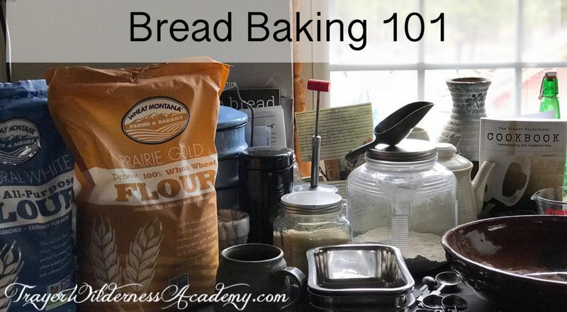 Trayer Wilderness Academy Free Bread Baking 101