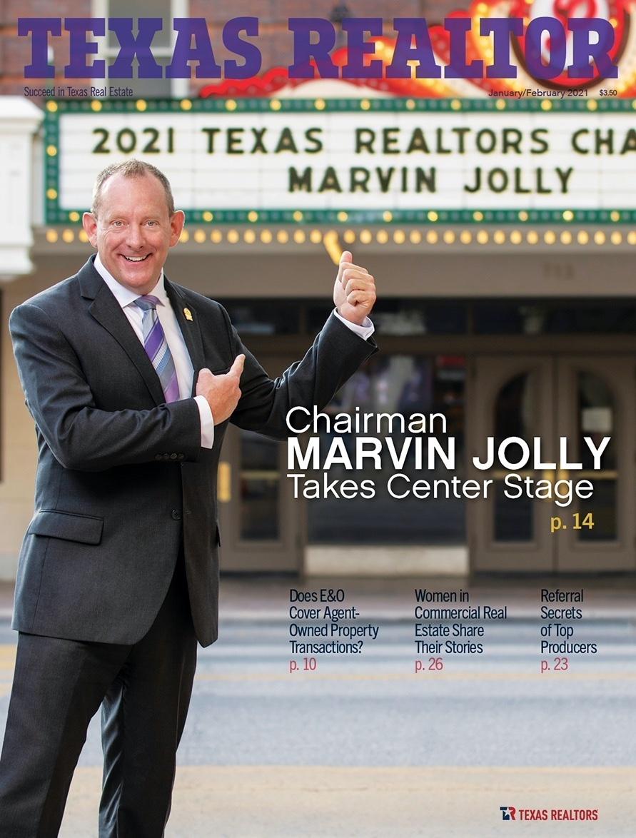 Jasen Edwards Texas realtor magazine referral secrets top producers