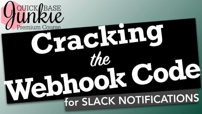 Cracking the Webhook Code for Slack Notifications