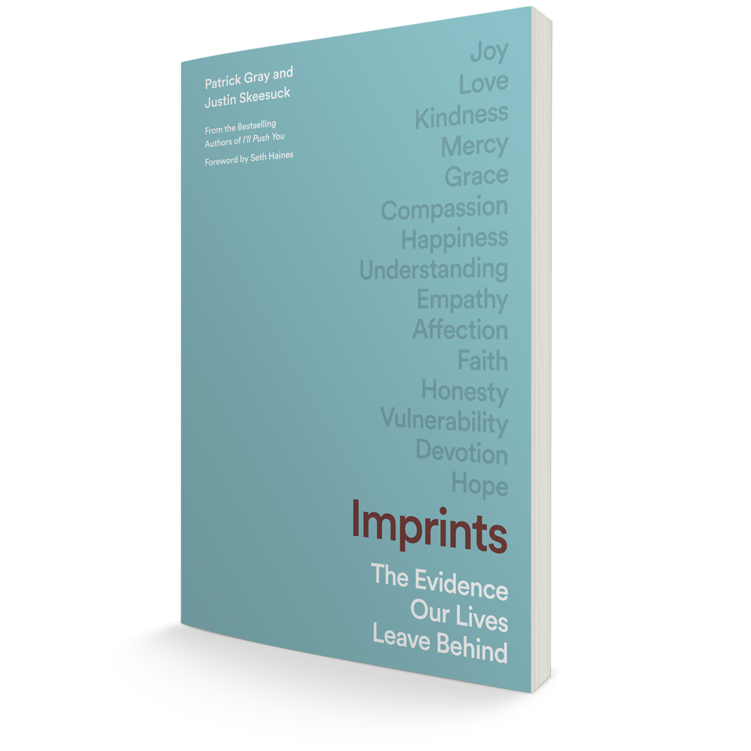 Book Cover:  Imprints, The Evidence Our Lives Leaves Behind