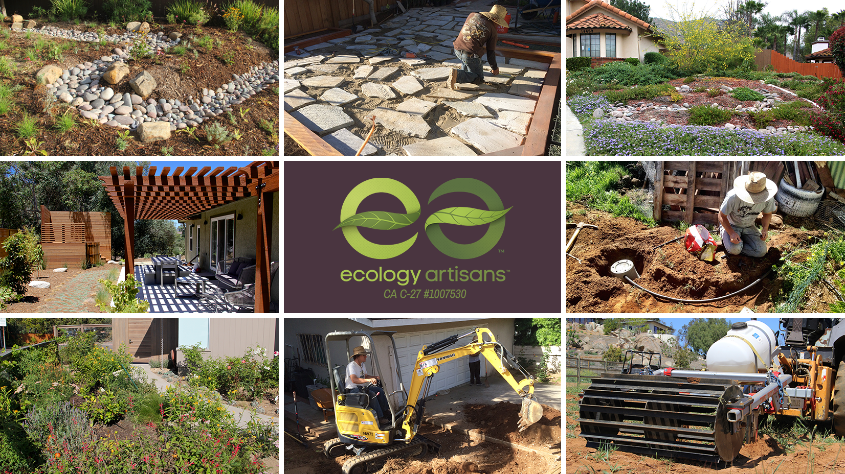 Ecology Artisans San Diego Landscape Design And Install Firm
