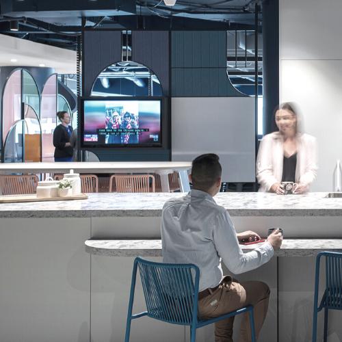 workplace cafe design fitout people