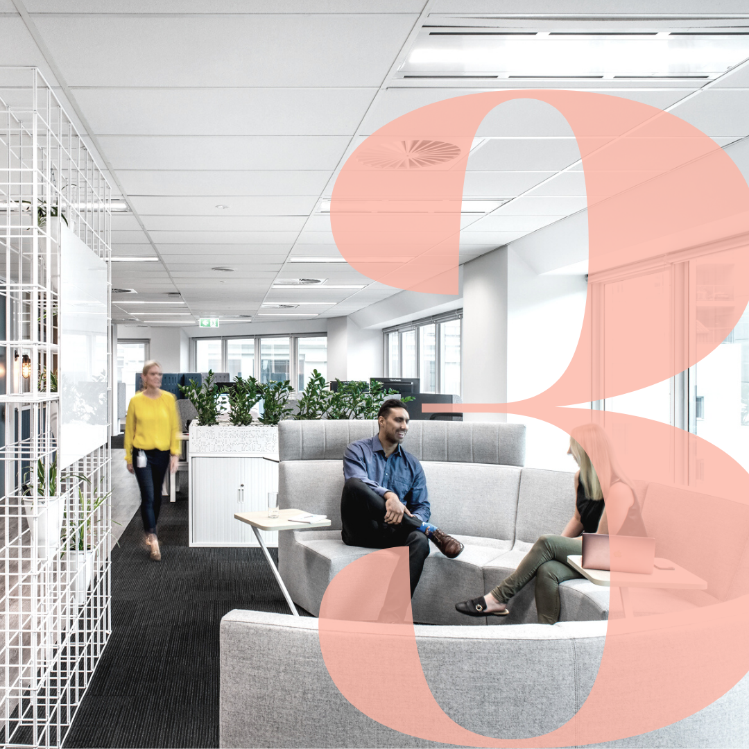 values and behaviours workplace design