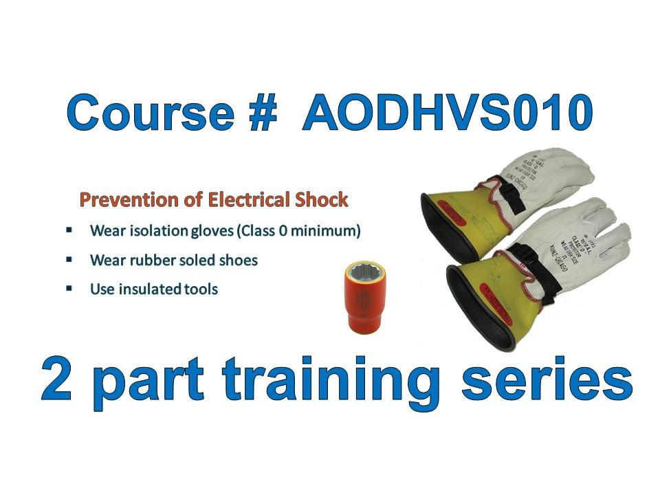 High Voltage Safety Training : On demand vehicle electrification courses