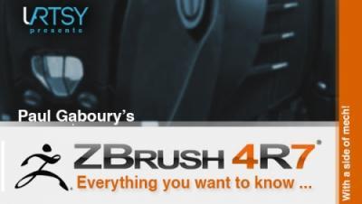 Mastering ZBrush 4R8
