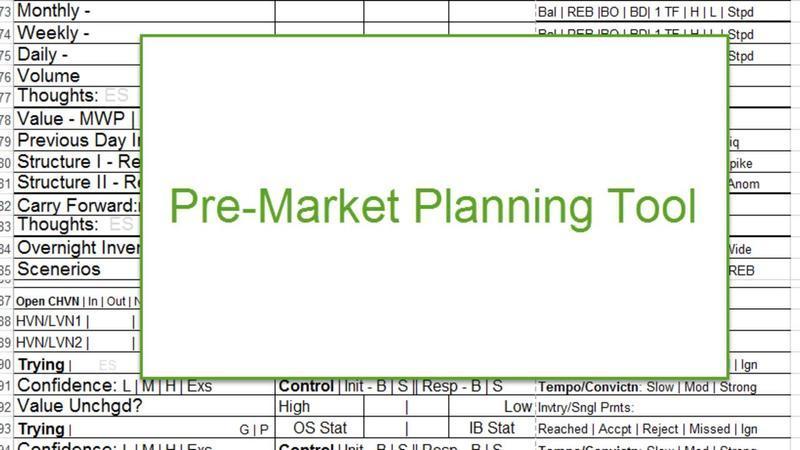 Premarket Planner