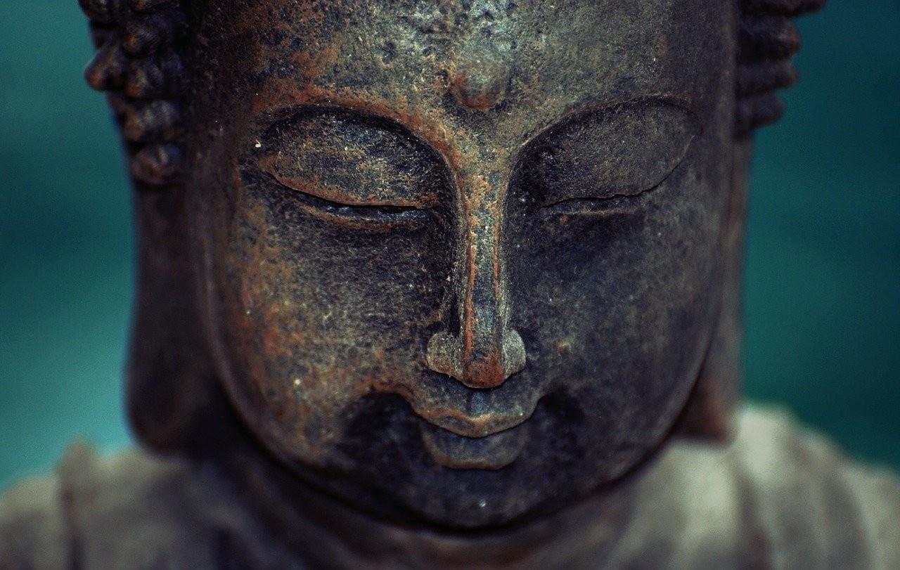 Peaceful Buddha Image