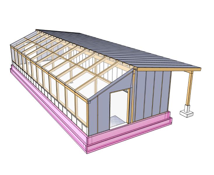 12+Passive Solar Greenhouse Design