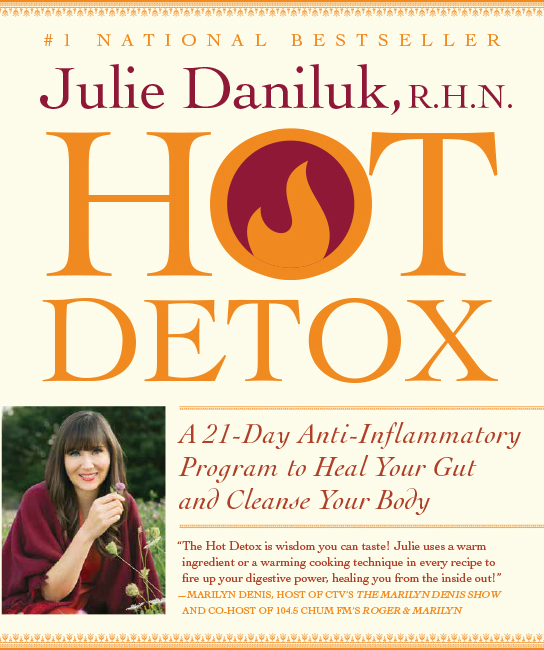 Nutritionist Julie Daniluk presents Hot Detox book