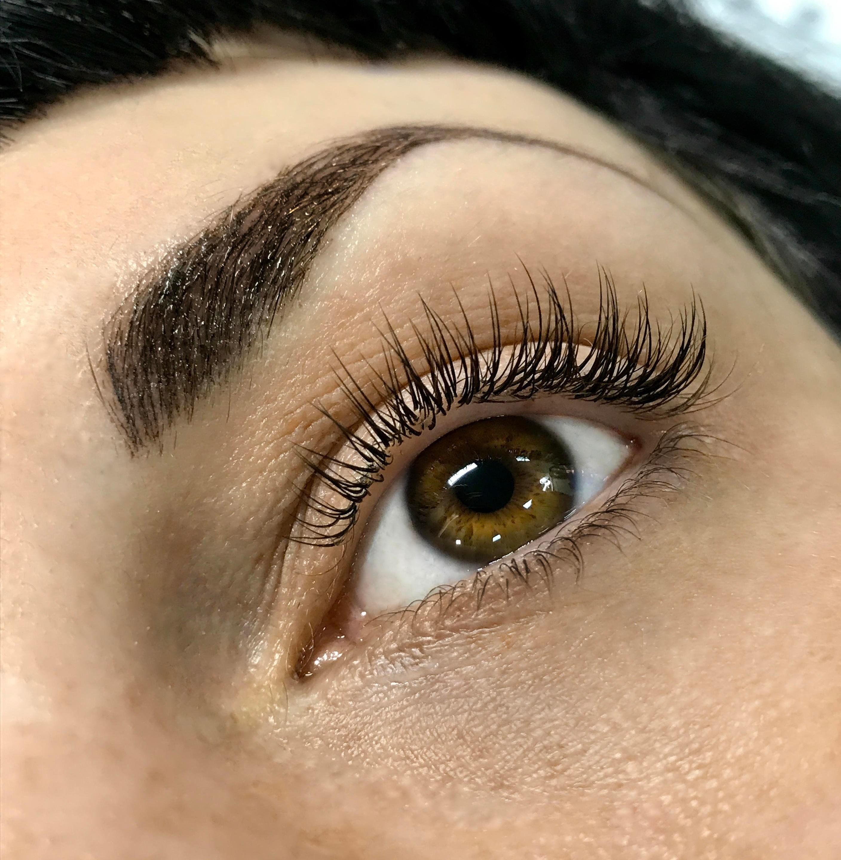 aae576a9e04 Some of the beautiful classic lashes created by our beginner students.