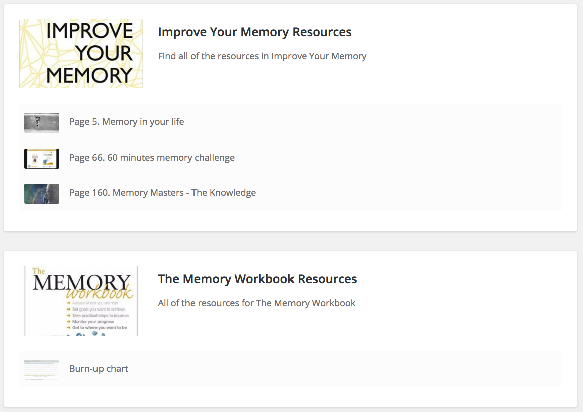 Memory books improve your memory and the memory workbook did i mention this is free solutioingenieria Choice Image