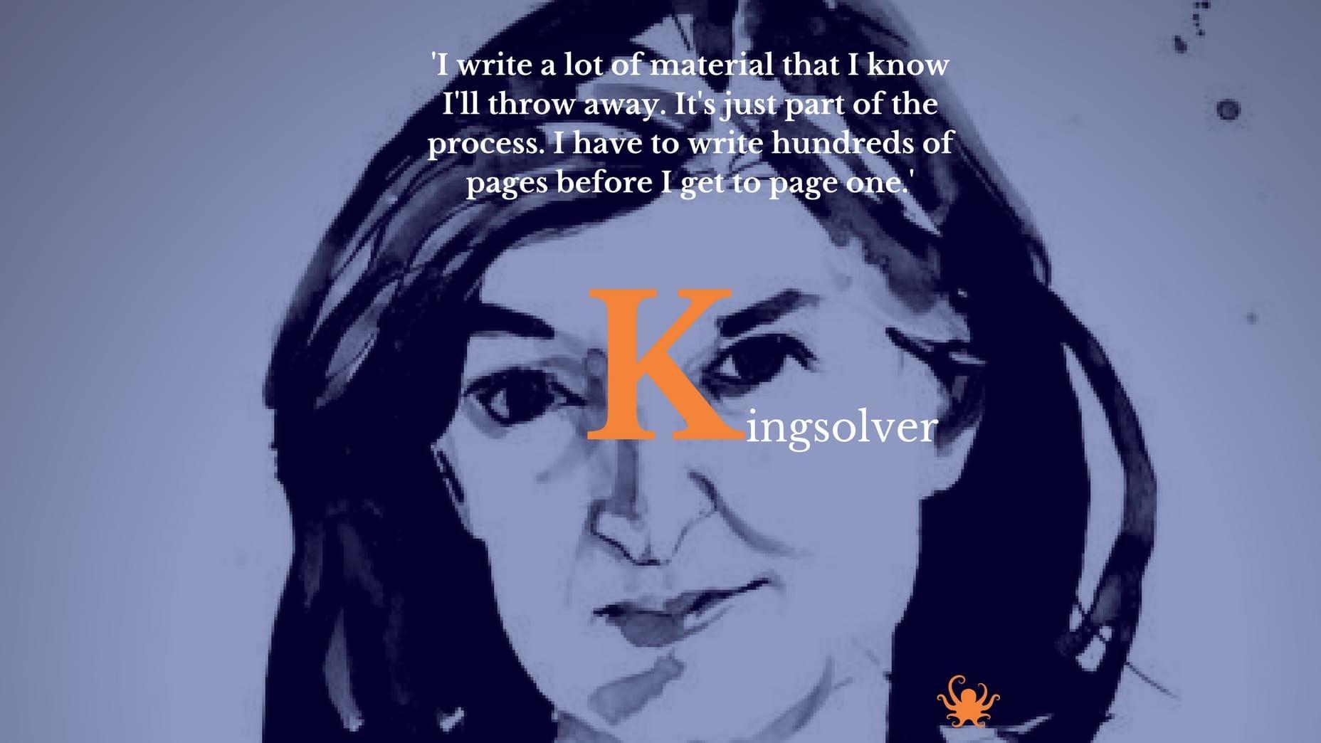Barbara Kingsolver advice