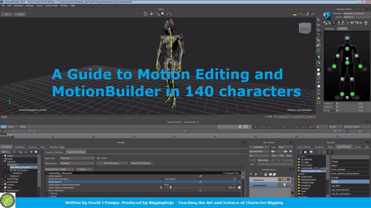 Get your free Guide to Motion Editing and MotionBuilder