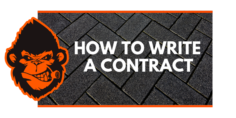 How To Write A Contract Video Training