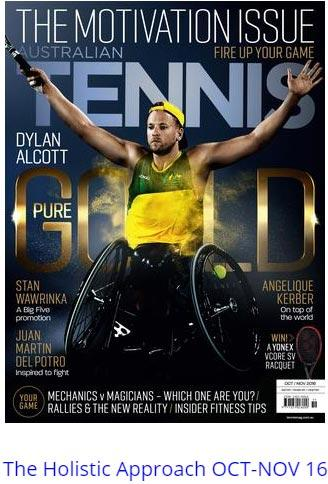 reputable site fa383 9cdca Australian Tennis Magazine