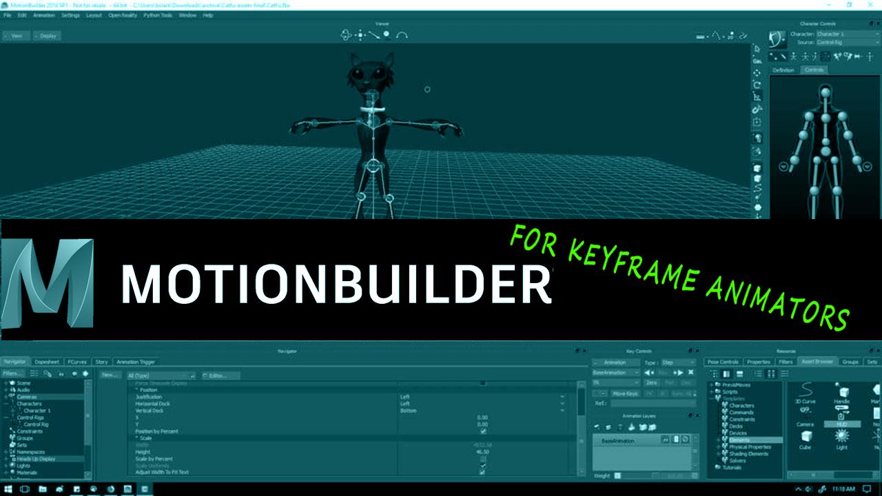 MotionBuilder Keyframe Animator Quickstart