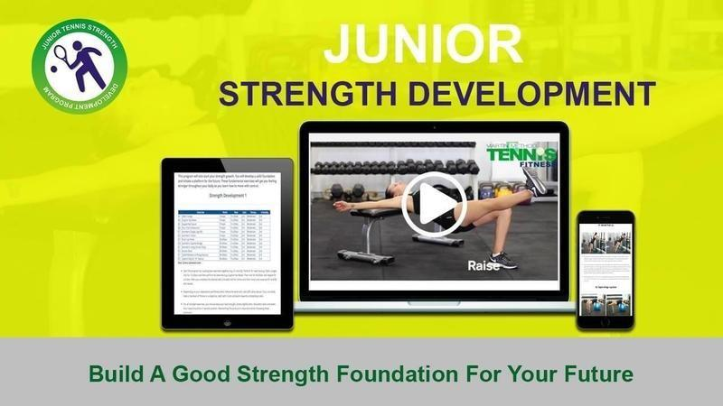 Tennis Fitness for Kids & Junior Players