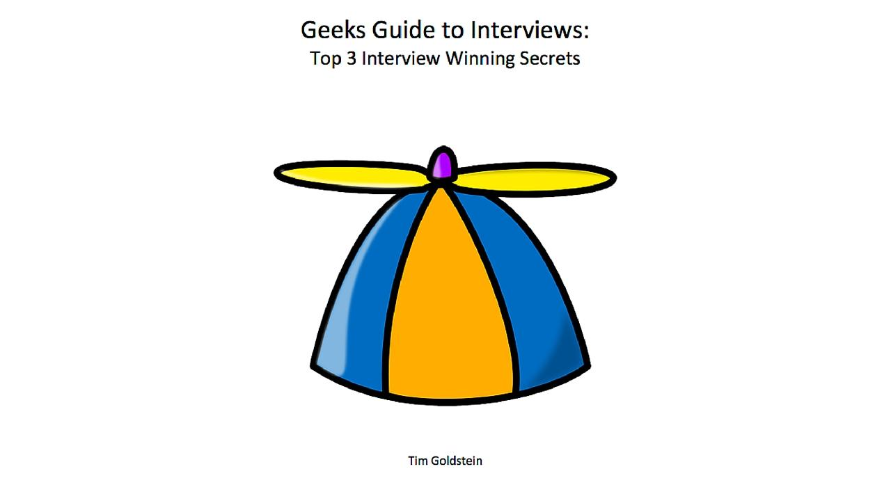 geeks guide to interviews sign in to your account