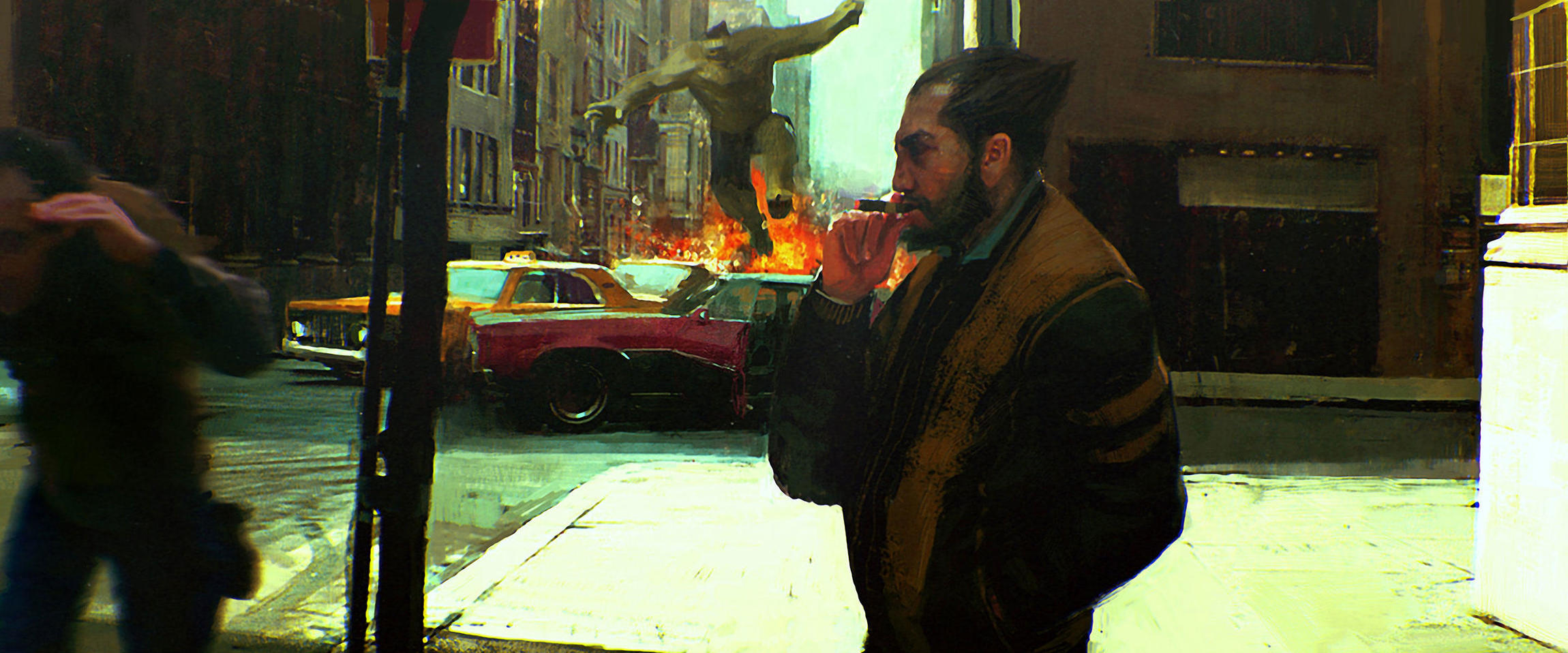 Key Frame Cinematic Illustration With Alex Mandradjiev