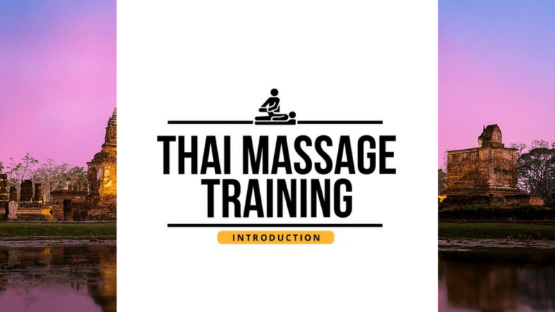 Online Thai Massage Continuing Education For Massage Therapists