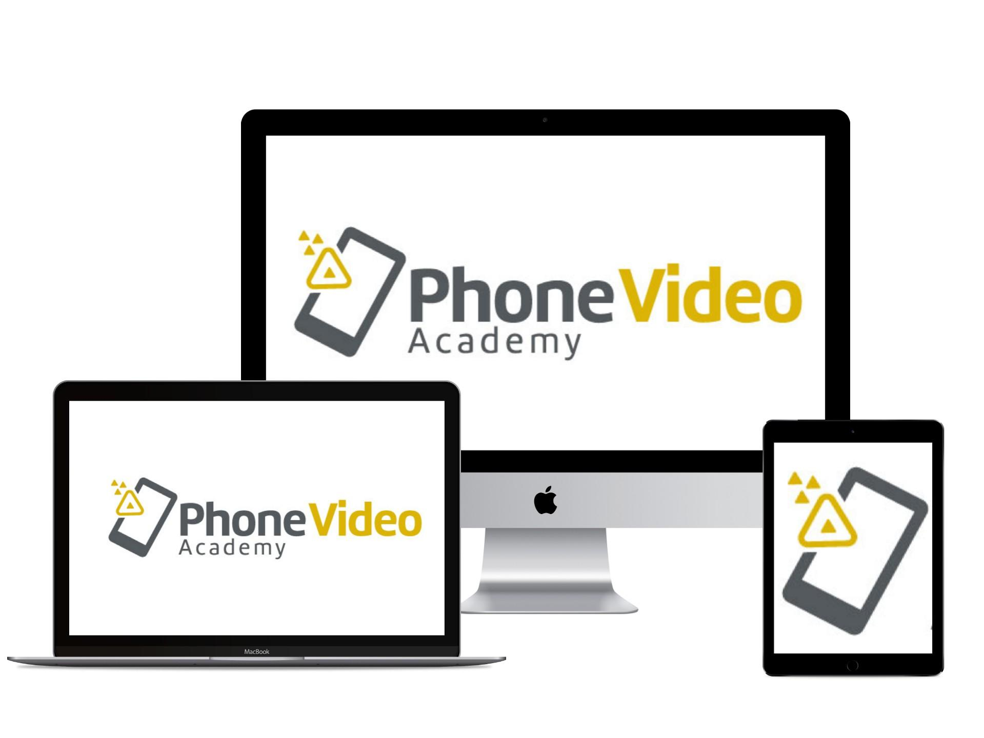 phone video academy sales page
