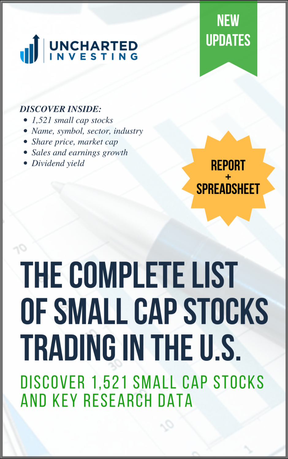 Complete Small Cap Stocks List | Free PDF & Excel Download