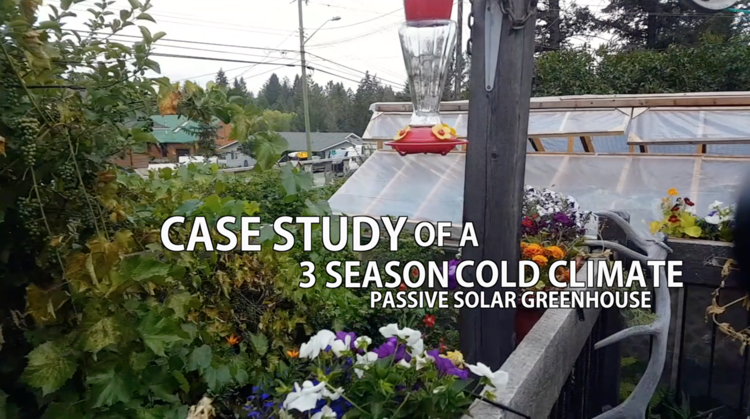 Passive Solar Greenhouse Case Study Package