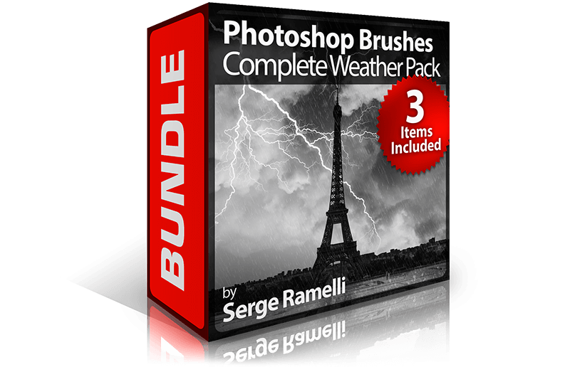 Photoshop Brushes Complete Weather Pack Bundle