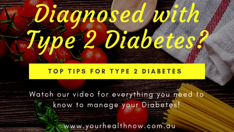 TOP TIPS FOR TYPE 2 DIABETES