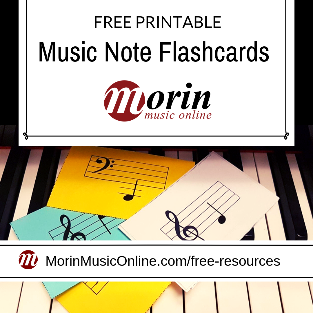 It's just an image of Free Printable Music Flashcards intended for beginner music note