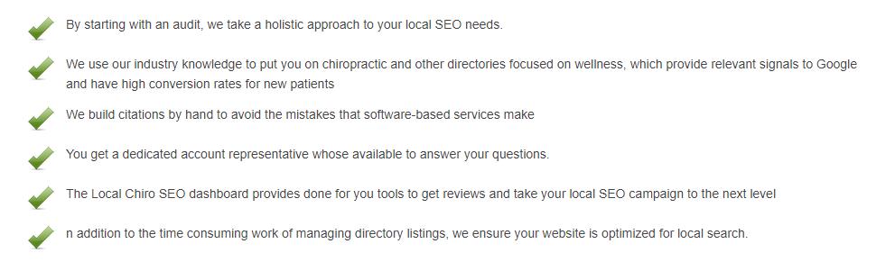 Local SEO Optimization for Chiropractors