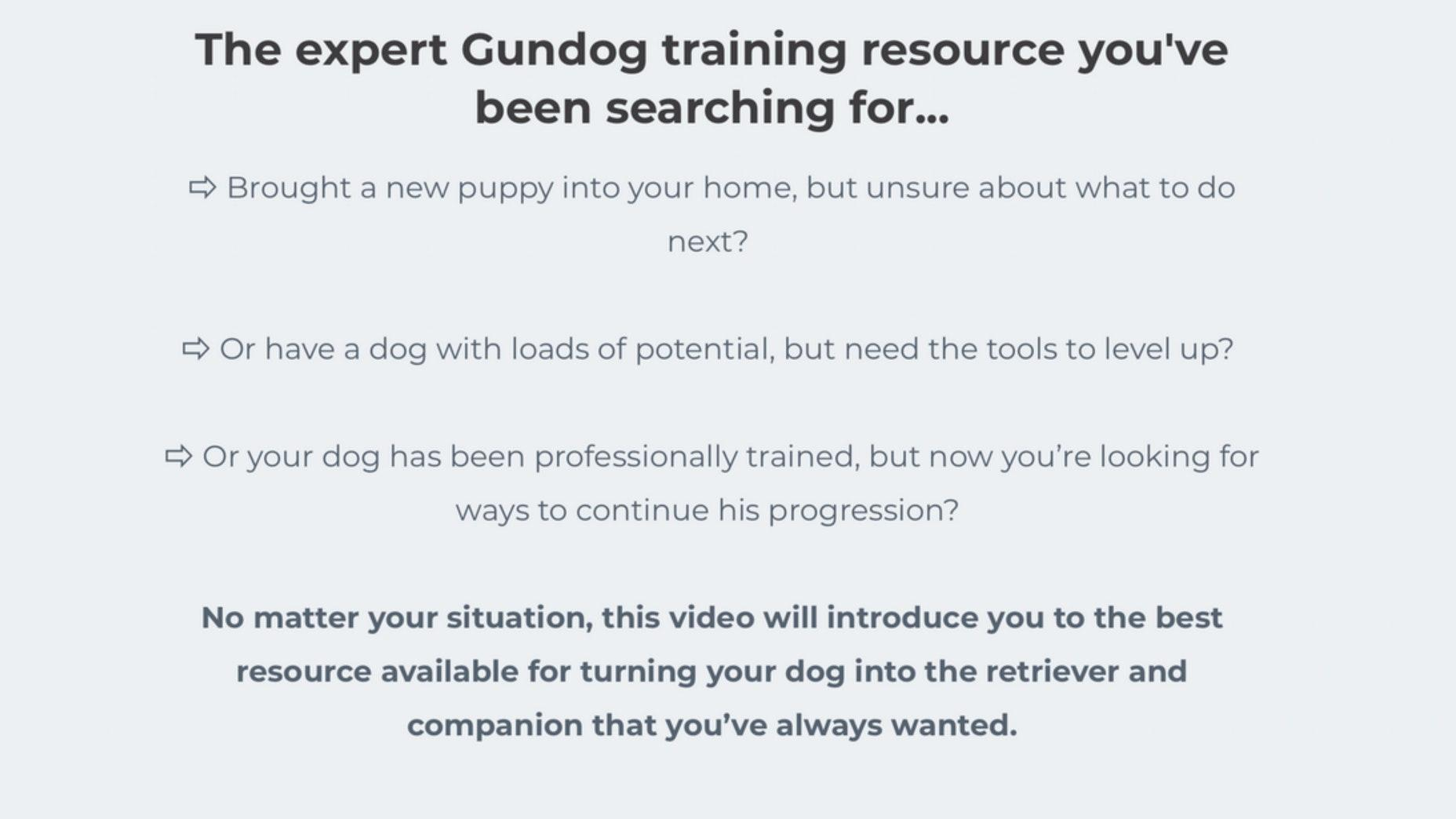 39d4bb94da8c5 How To Get The Most From Your Retriever Training...