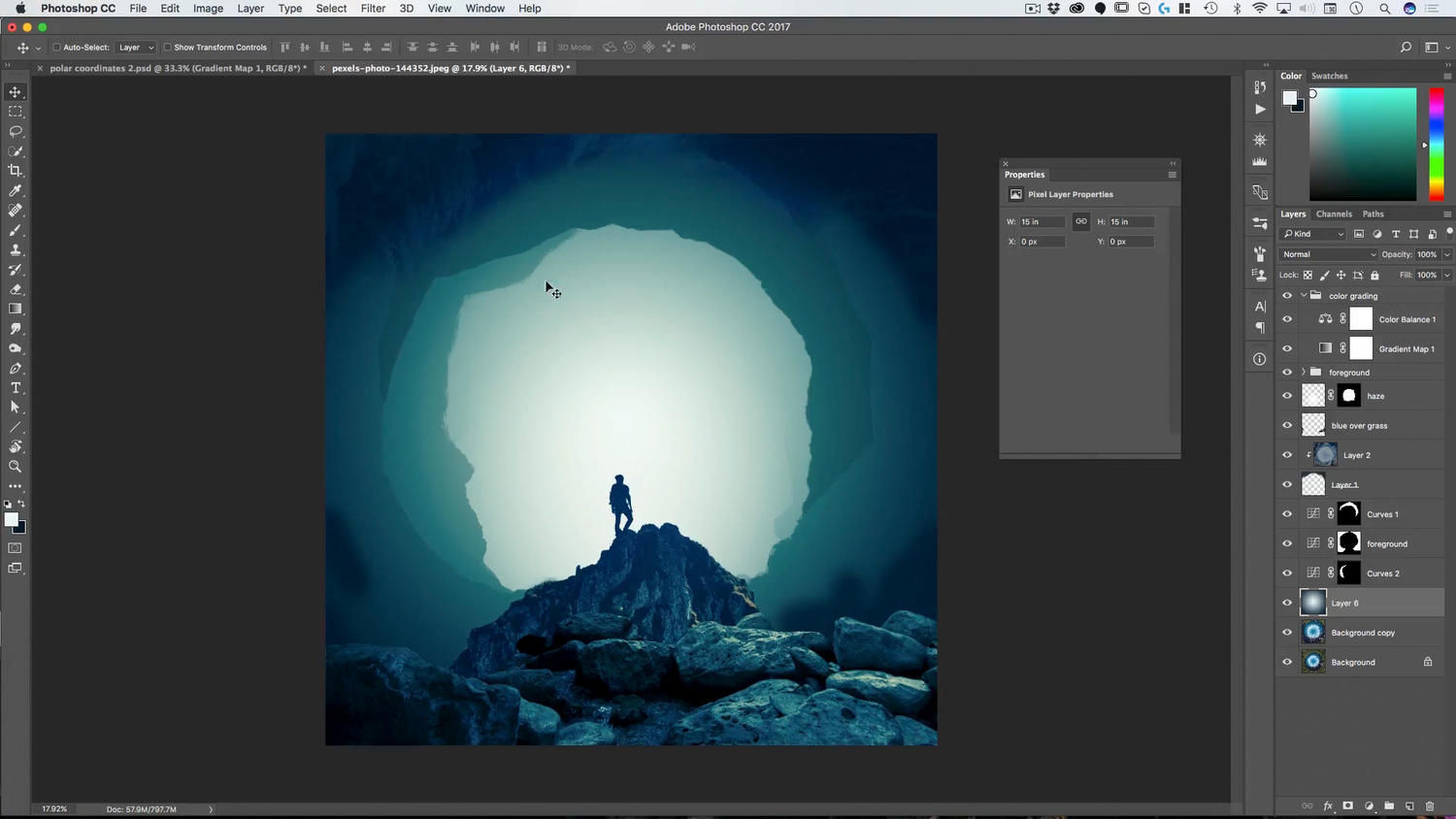 Great Abyss Photoshop Composite Course