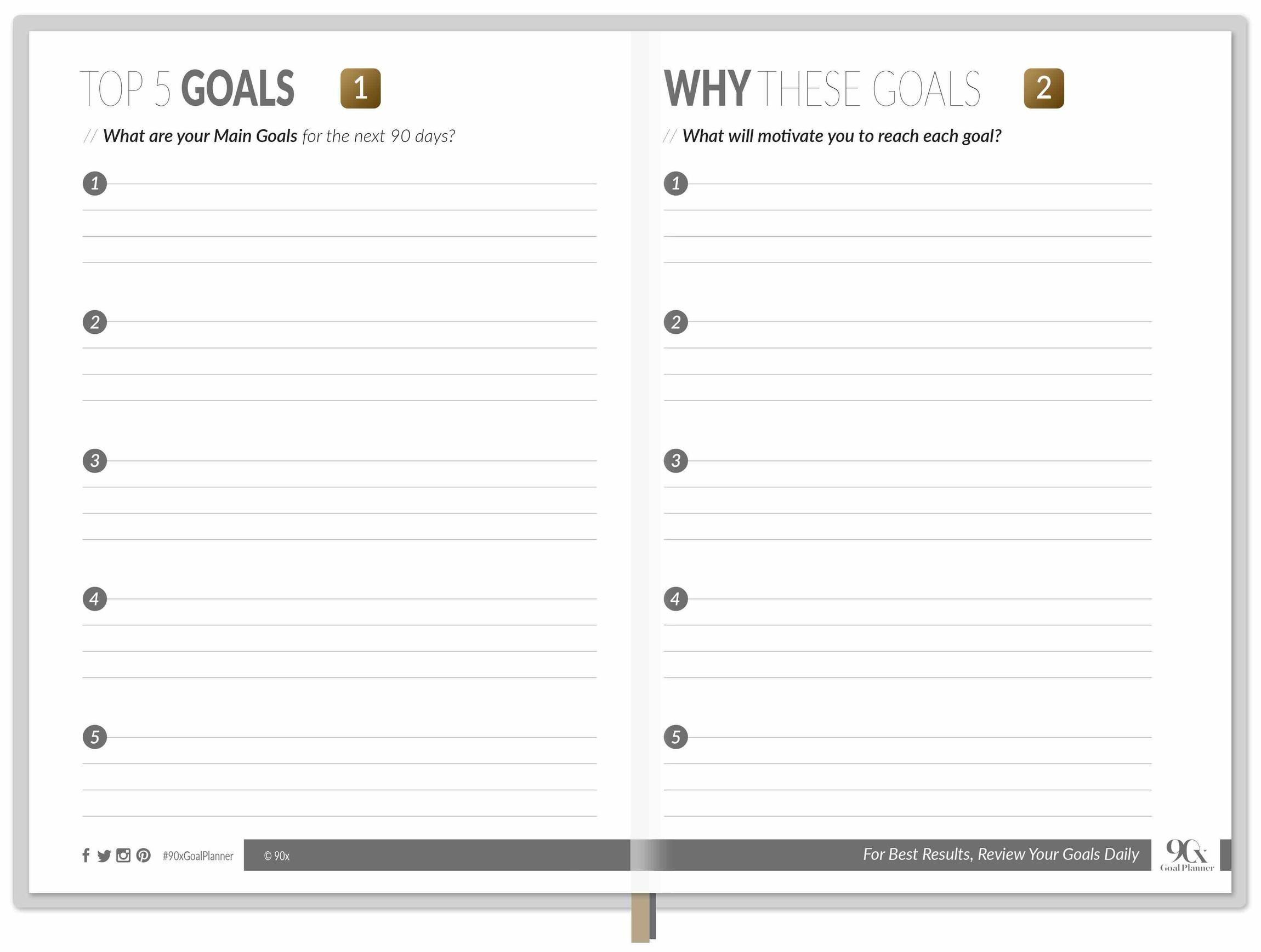 photo about Planner Pdf named 90X Objective PLANNER 1.99 PDF