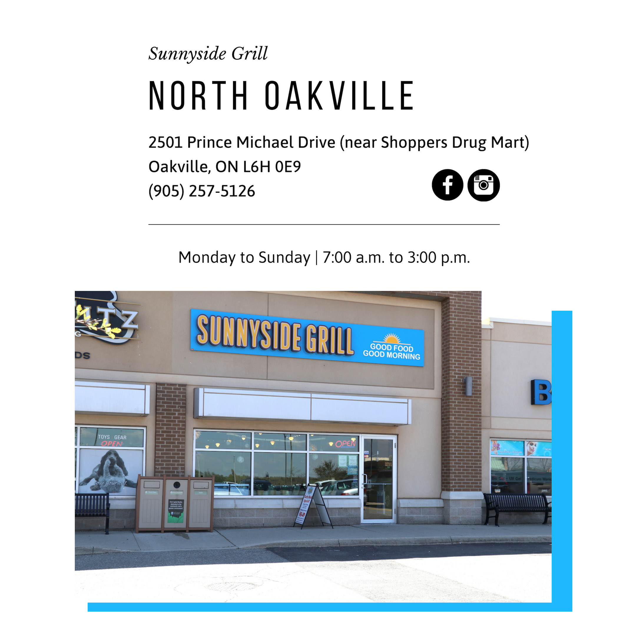 Sunnyside Grill Locations