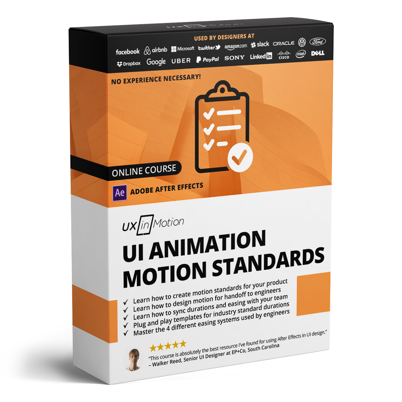 Ui Animation Motion Standards